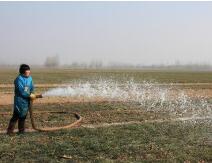 多引多用黄河水,河中打井……山东挖掘各类水源抗旱浇水