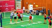 前中国女排副攻赵蕊蕊助阵全国业余排球精英赛