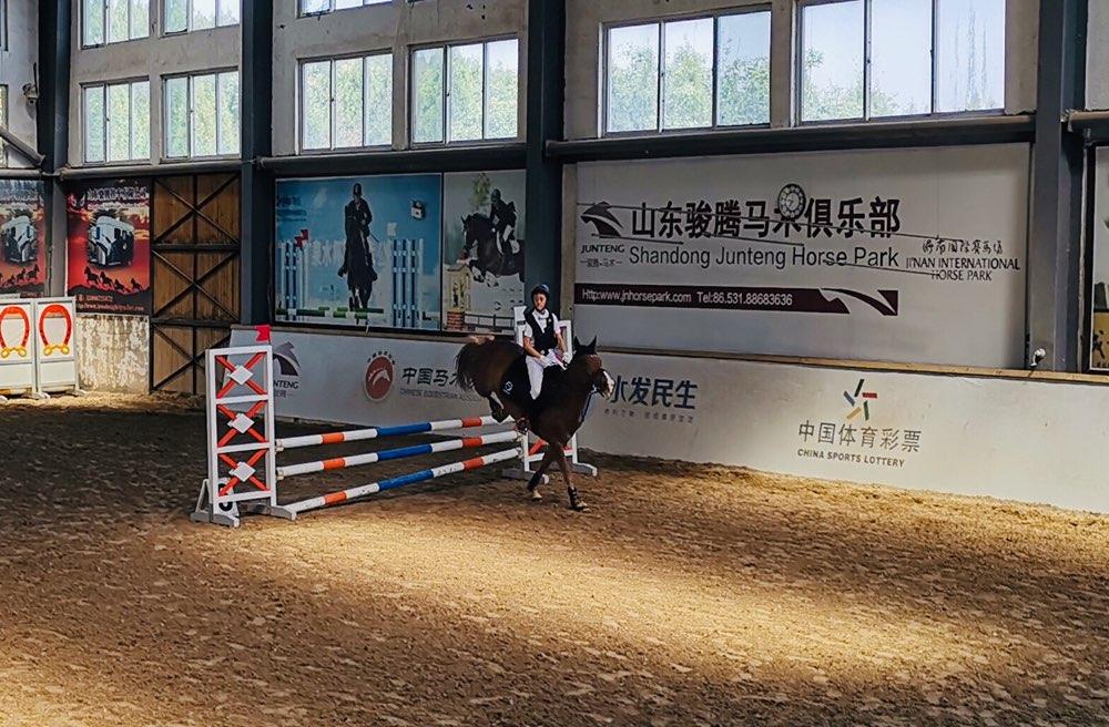 战火再燃!第二届全国青年运动会马术场地障碍外卡赛在济南举行