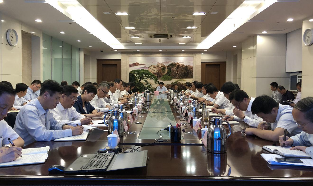 立即整改!省商务厅召开《问政山东》反映问题整改工作会议