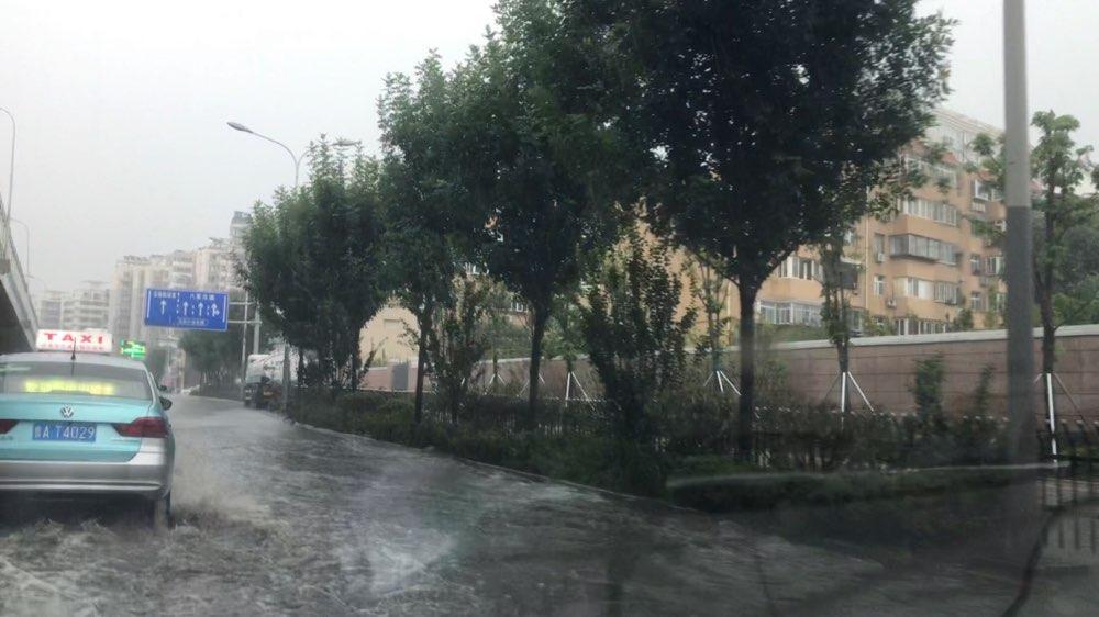 强降雨影响山东 全省平均降雨量21.1毫米