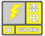 海丽气象吧|9级雷雨大风!潍坊发布雷电黄色预警