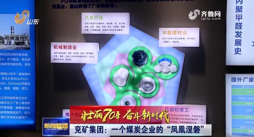 """【壮丽70年 奋斗新时代】兖矿集团:一个煤炭企业的""""凤凰涅磐"""""""