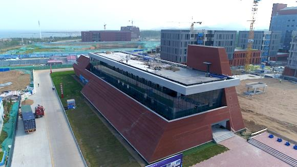 刚刚封顶的这个大学不一般,将建成辐射全球的海洋研究新集群