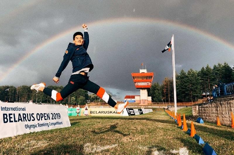 现代五项国际公开赛白俄罗斯站 山东小伙张琳彬夺得亚军