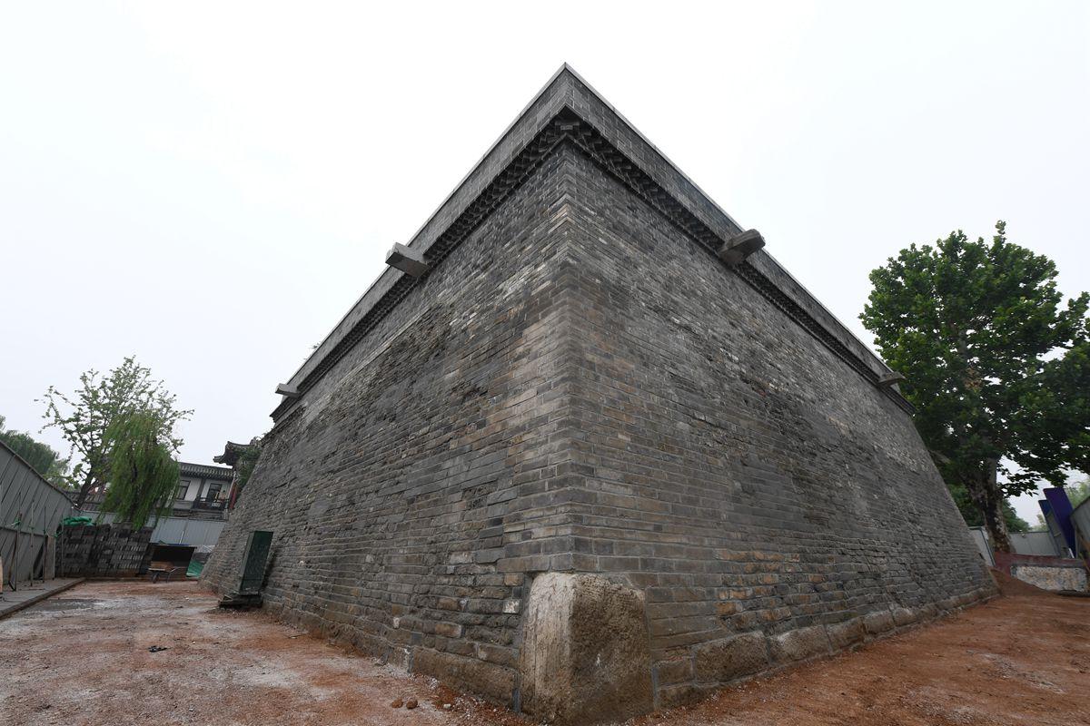 济南元代钟楼台主体修复成型 将来市民可登顶观景纳凉