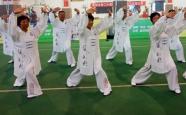 """130名老年人同台""""比武""""潍坊举办第二十届运动会老年组健身气功比赛"""