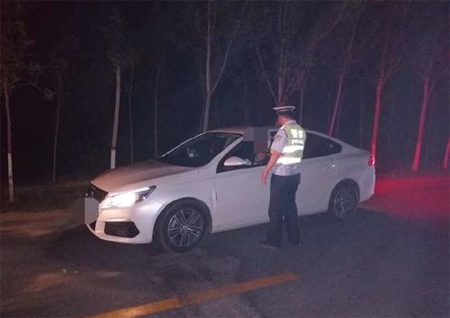 """惠民一名""""酒司机""""逃避检查被严惩 记12分并暂扣驾照6个月"""