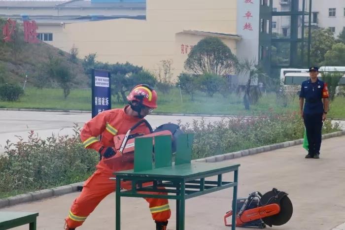 全省消防行业技能竞赛开幕式在济宁举行