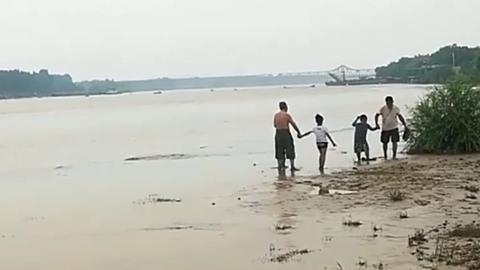 34秒丨父子3人浆水泉水库溺亡后,济南还有不少人在野游