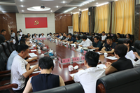 """济南市体育局开展""""一对一""""帮包服务民营企业对接工作"""