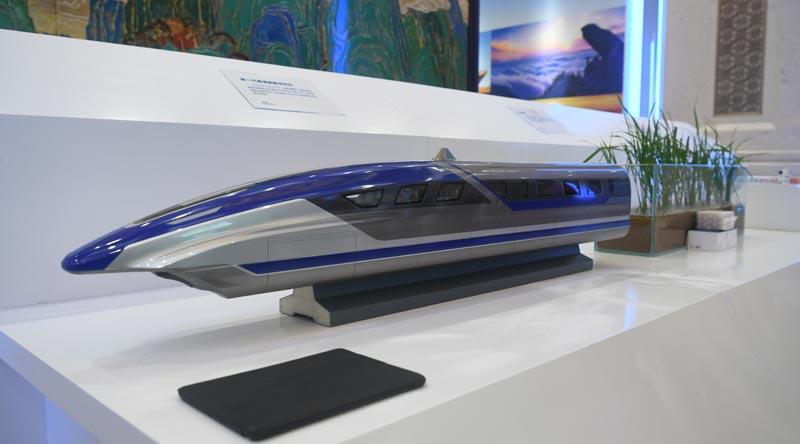 30秒快闪看山东丨磁悬浮列车、蓝鲸1号、海水稻……山东十强产业和创新智造的实物亮相北京