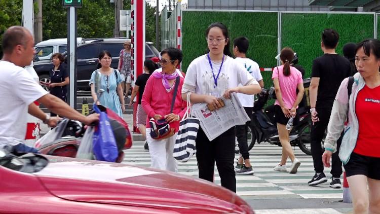 """89秒丨自行车坡道、电梯""""全配齐""""!潍坊设施最先进的新天桥将亮相虞河路"""