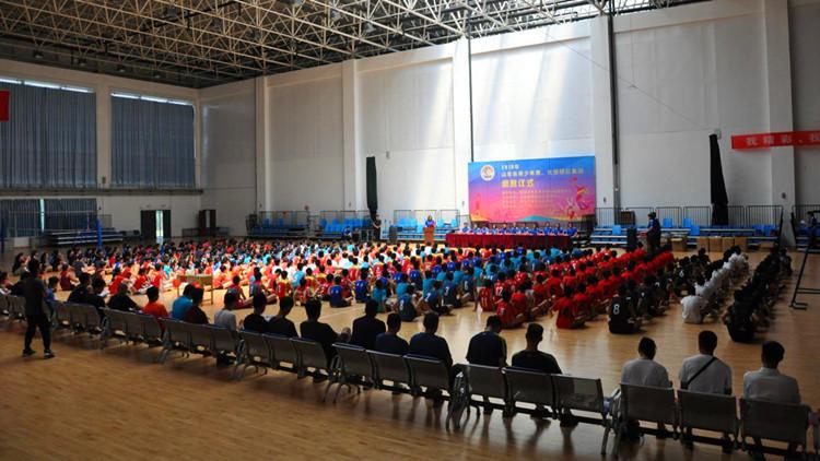 2019年山东省青少年男女排球大集训圆满结束