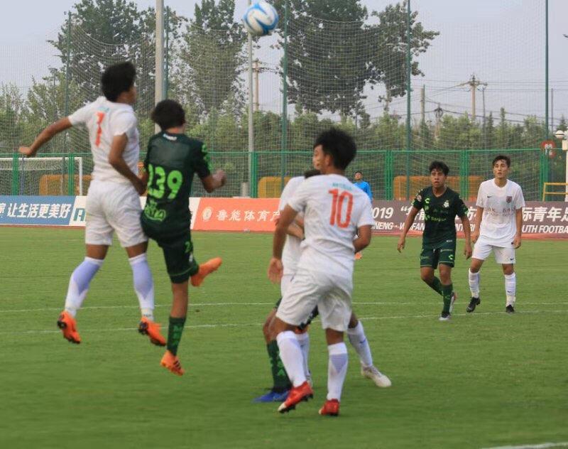 潍坊杯丨伤停补时连进两球 鲁能2:2绝平墨西哥桑托斯拉古纳