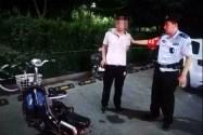 """潍坊一夜贼偷车还没""""骑热乎""""就被捕 原来车上装着""""高科技"""""""