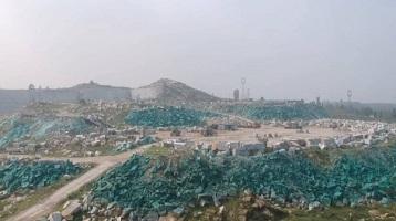 77秒丨应付环保检查、蒙蔽卫星监测,新泰这座矿山被涂上了绿漆