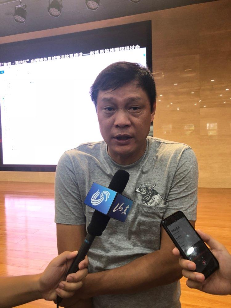范志毅:潍坊杯为青少年足球发展提供了平台 看好中国足球青训未来