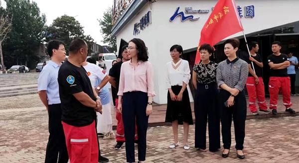 团省委一行调研菏泽市防溺水安全教育情况