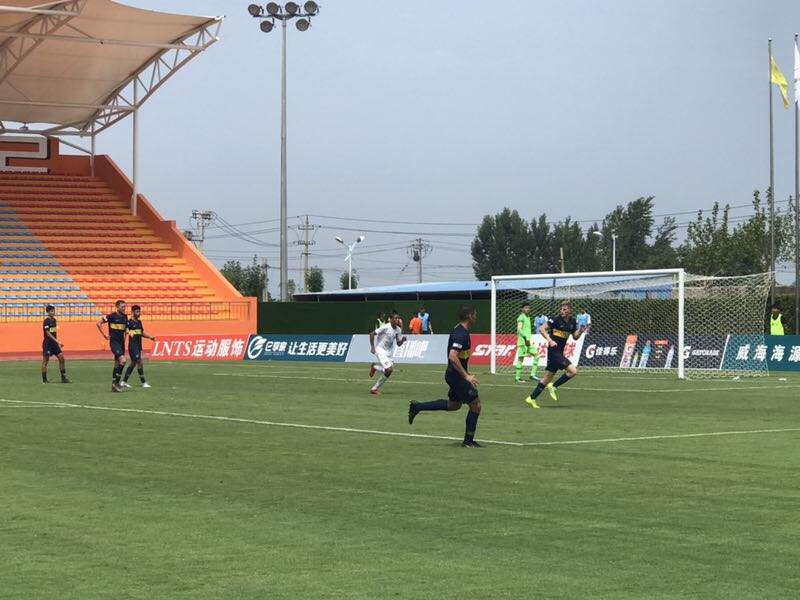 潍坊杯战报丨鲁能巴西体育3:3博卡青年 双双携手晋级四强