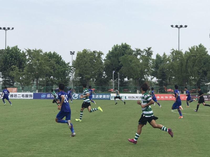 潍坊杯战报丨葡萄牙体育4:0击败上海申花 取得潍坊杯首胜