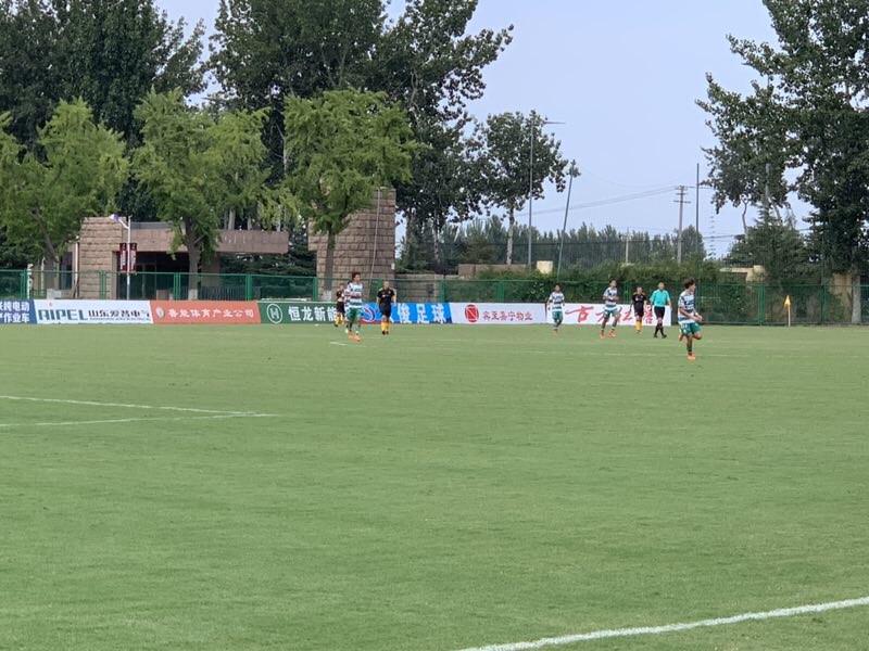 潍坊杯战报丨英国狼队2:0墨西哥桑托斯拉古纳晋级四强