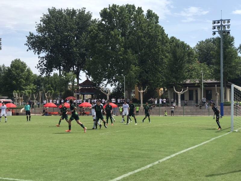 潍坊杯排位赛 墨西哥桑托斯拉古纳5:0上海申花