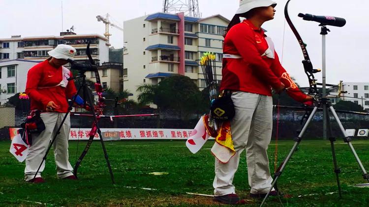 """射箭女孩孟凡旭:""""我想为山东拿一块奥运金牌"""""""