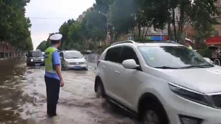 海丽气象吧丨持续降雨临沭最高降雨量171.3毫米,多辆车抛锚熄火