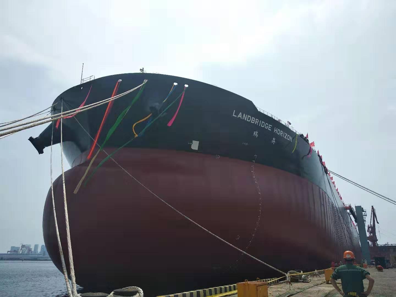 """62秒丨岚桥集团第五艘超大型油轮VLCC""""瑞昇""""轮交付使用"""