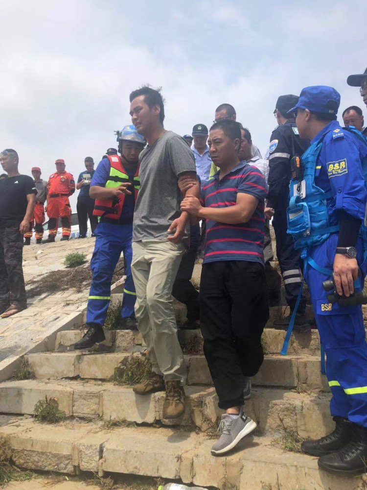 日照暴雨两名失踪人员已找到一名 确认已死亡