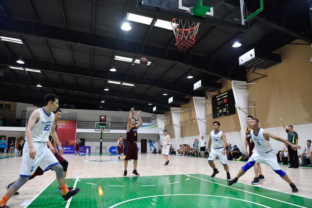 你追我赶激情上演 山东省直单位篮球赛精彩不间断