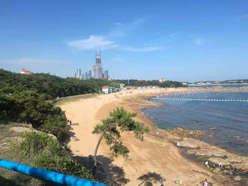 黄牌警告!青岛海水浴场公布7月份考核排名  后三名被亮黄牌限期整改