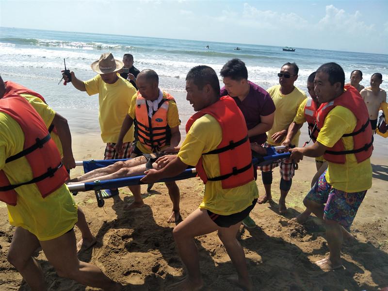 保安全 无溺亡!青岛开展海水浴场应急演练 提升应急救生能力
