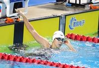 二青会游泳比赛首日  山东健儿勇夺三金闪耀赛场