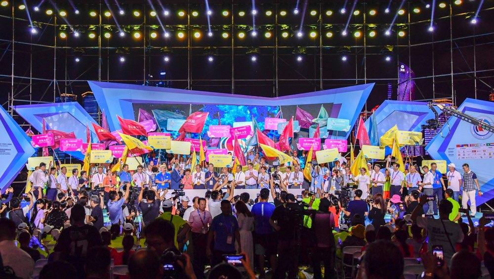 2019第十一届青岛国际帆船周·青岛国际海洋节盛大开幕