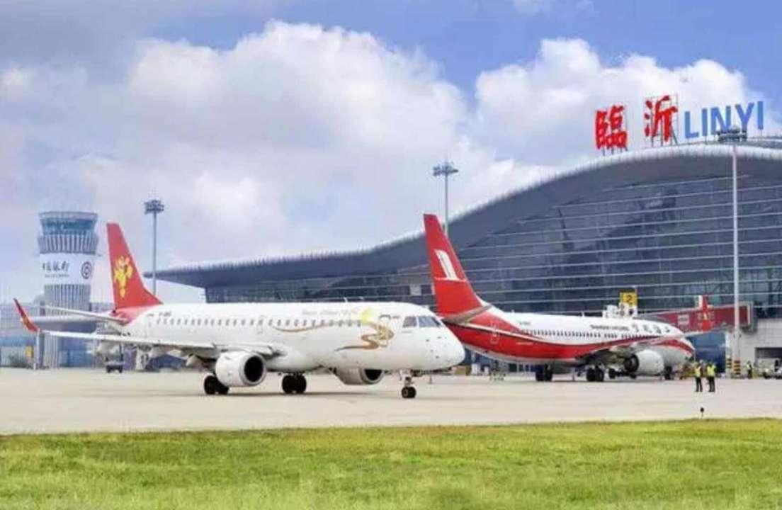 受台风影响,临沂机场多航班取消、延误