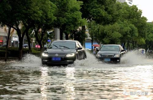 权威发布!潍坊交警实时发布积水严重路段