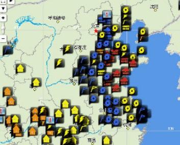 山东55个暴雨红色预警生效 未来24小时济南南部等11地引发地质灾害可能性大