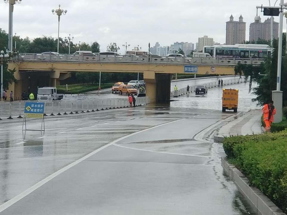 紧急扩散!沂河水倒灌解放路沂河大桥底,现场已限行!