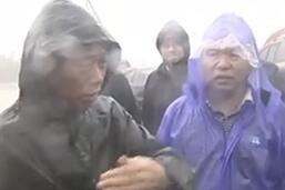 寿光纪台镇转移3000多人,村民在安置点领到热馒头