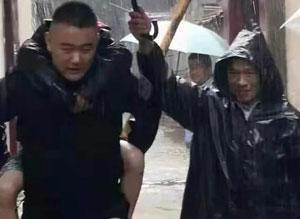 """迎战台风""""利奇马""""淄博临淄区这些身影感动全城"""