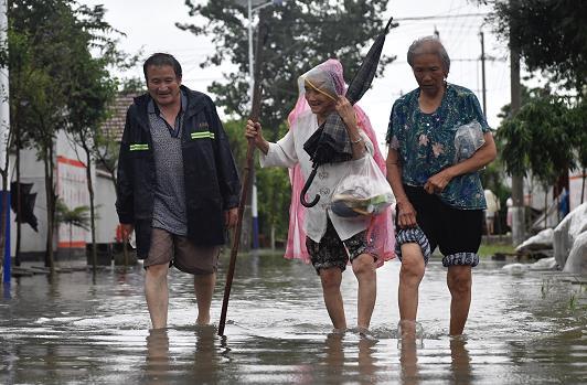 """24小时平均降水量89.8毫米!受台风""""利奇马""""影响山东迎今年最强降雨"""