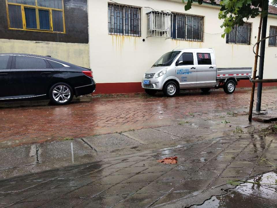 因道路积水严重,昌乐公交、客运所有线路暂时停运