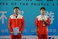 二青会程龙斩获男子甲组800米自由泳金牌