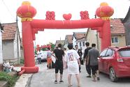 37秒丨台风过后第一场婚礼!寿光口子村陆续恢复生产生活 一对新人如期举行婚礼