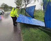 注意绕行!截至13日12时,济南共有6处道路积水管制路段