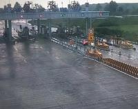 台风过后,威海交通运输逐步恢复正常运行