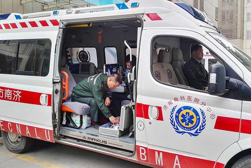 因险因灾就诊患者先诊疗后交费,济南启动医疗救援应急预案