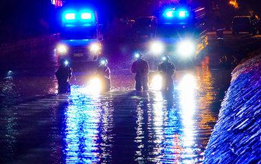 冲锋在前 4支矿山救护大队驰援寿光青州抢险救灾